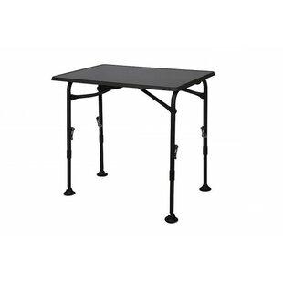 Hoskin Folding Aluminium Dining Table By Symple Stuff