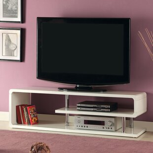 Savings Luther TV Stand for TVs up to 55 by Wade Logan Reviews (2019) & Buyer's Guide