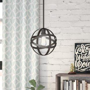 Wrought Studio Prange 1-Light Globe Pendant