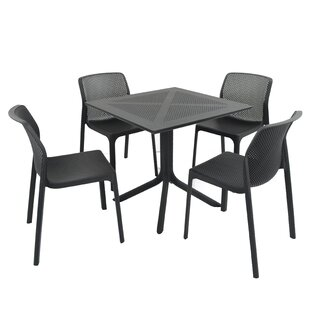 Destinee Dining Set With 4 Chairs By Sol 72 Outdoor
