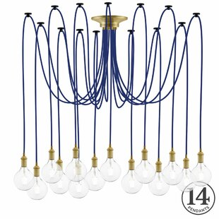 Ian 14-Light Cluster Pendant by 17 Stories