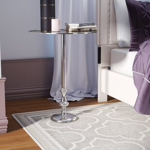 Searching for Shisler Aluminum End Table by Willa Arlo Interiors