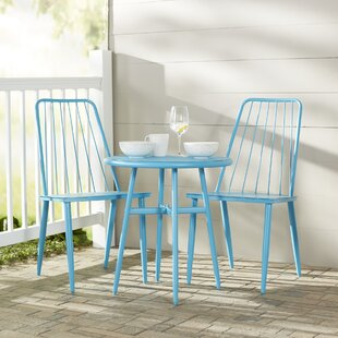 Stella 3 Piece Bistro Dining Set