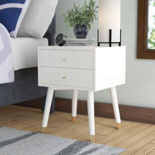 Kraemer 2 Drawer Nightstand