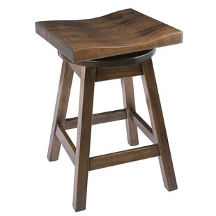 Burnside 24 Swivel Bar Stool Loon Peak