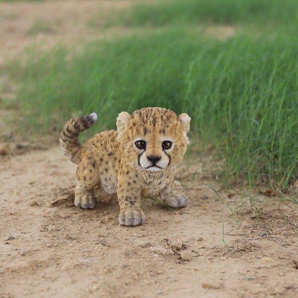Hi Line Gift Ltd Baby Cheetah Statue Amp Reviews Wayfair