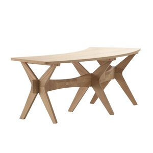 Sitzbank Warden aus Holz von Urban Facettes