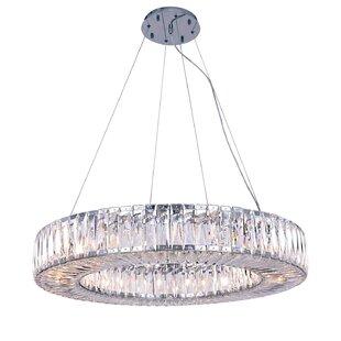 Rosdorf Park Luker 20-Light Crystal Chandelier