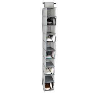 New Style Shelf 10 Pair Hanging Shoe Organizer By Rebrilliant