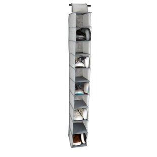 Comparison Shelf 10 Pair Hanging Shoe Organizer By Rebrilliant