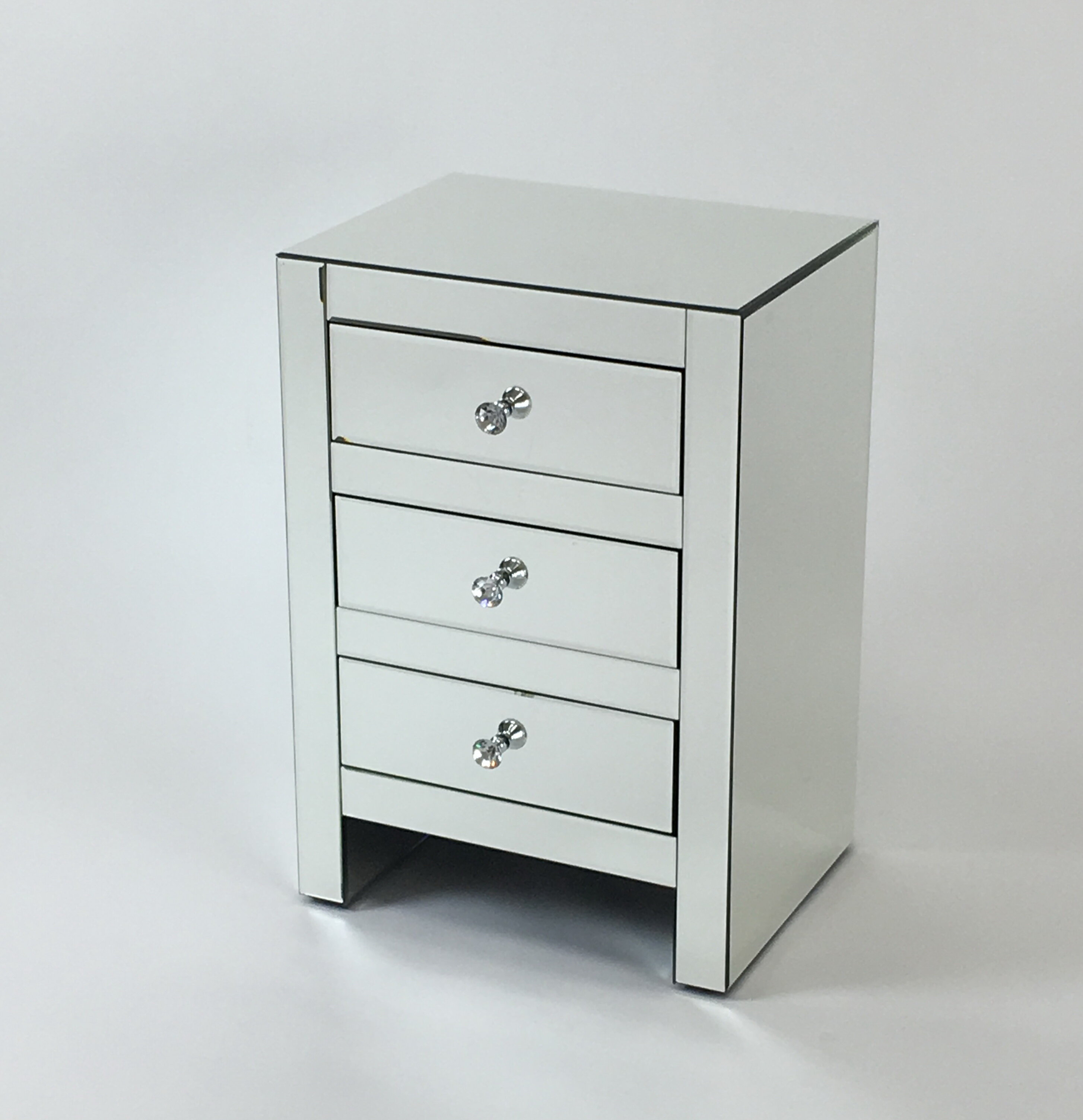 silver of madison chest drawer mirrored drawers htm bookmark birch lane