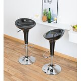 Caldecote Swivel Bar Stool (Set of 2) by Orren Ellis