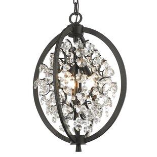 House of Hampton Mercuri 3-Light Globe Chandelier