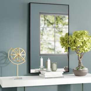 Bon Ledger Wood Wall Mirror