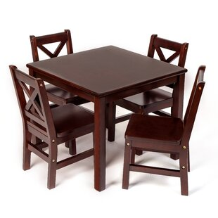 Kayli Kids 5 Piece Table and Chair Set