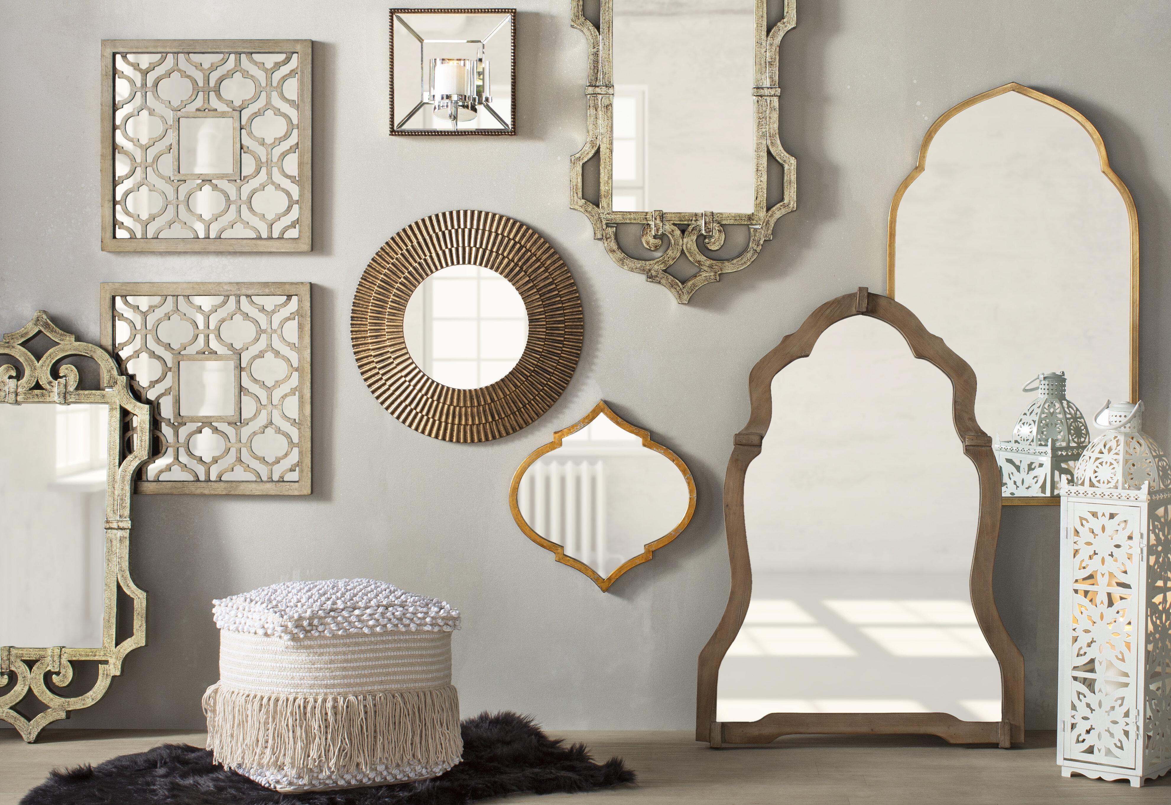 10 Dazzling Wall Mirror Decor Ideas With Photos Wayfair