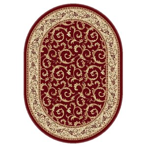 langlee red floral area rug