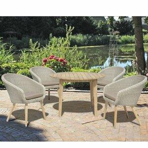 4-Sitzer Gartengarnitur Arvada von Caracella