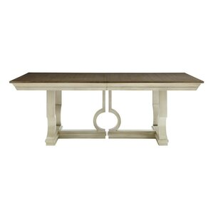Oasis Moonrise Pedestal Extendable Dining Table ..