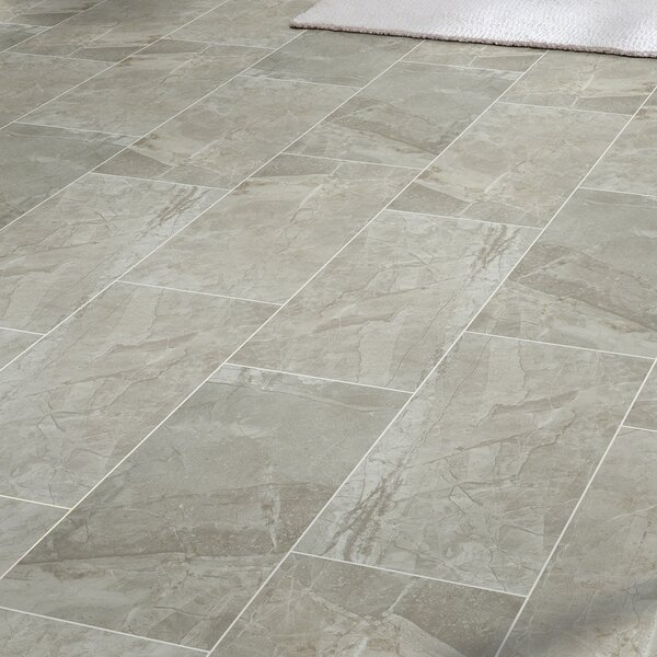 "Vision 12"" X 24"" Ceramic Field Tile In Gray & Reviews"