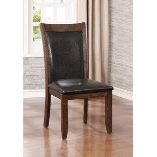 Herbert Upholstered Dining Chair (Set of 2) by Loon Peak