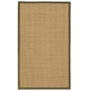 Atwell Border Hand-Woven Gray/Fossil Area Rug by Bayou Breeze