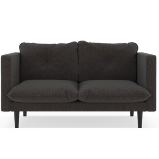 Rodman Pebble Weave Loveseat by Brayden Studio Wonderful