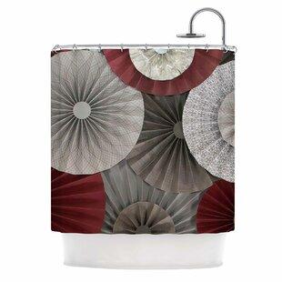 Merlot by Heidi Jennings Abstract Single Shower Curtain