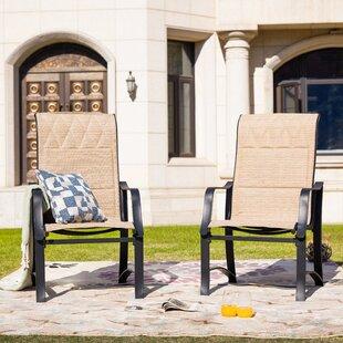 Sartin Patio Dining Chair (Set of 2)