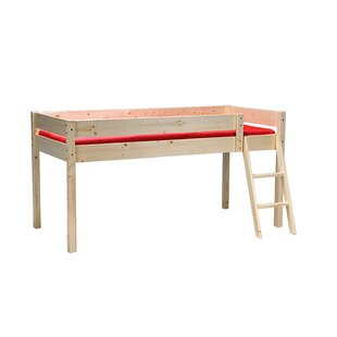 Zendaya European Single Loft Bed By Harriet Bee