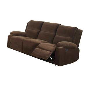 Garduno Leatherette Motion Reclining Sofa