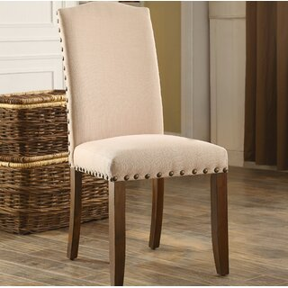Whipton Upholstered Dining Chair (Set of 2) by Loon Peak SKU:EA201797 Description