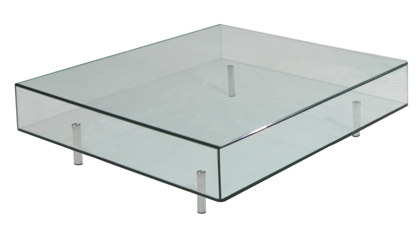 black square coffee table - focus one home arron square coffee table reviews wayfair