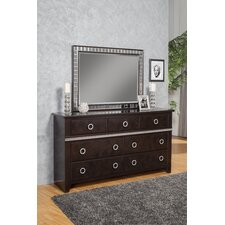 Borden 7 Drawer Dresser with Mirror by Everly Quinn