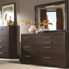 Miranda 7 Drawer Dresser with Mirror by Latitude Run