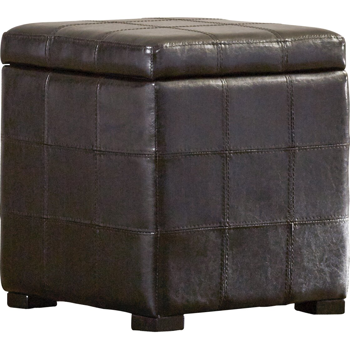 Coffee table with nesting ottomans - Trout River 3 Piece Coffee Table And Ottoman Set