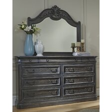 Danberry 9 Drawer Dresser with Mirror by Astoria Grand