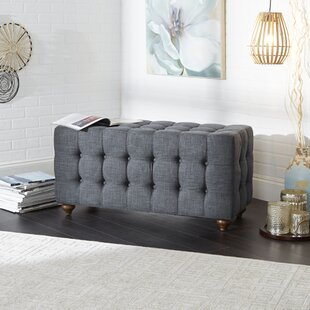 Sindelar Tufted Upholstered Bench by Charlton Home
