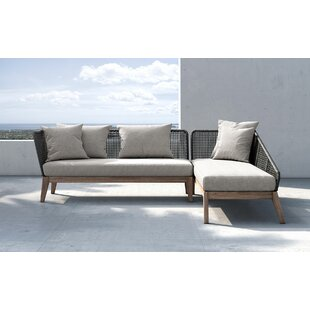 Netta Patio Sectional with Cushion
