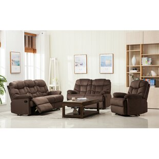 Ranbir 3 Reclining Piece Living Room Set
