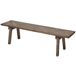 Rodney Wood Bench by Loon Peak