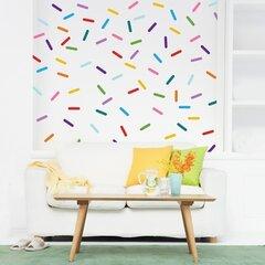 "Sprinkle Kindness Like Confetti 12/"" 24/"" 36/"" 48/"" Peel And Stick Wall Sticker"