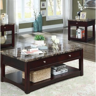 Charlton Home Recker 2 Piece Coffee Table Set