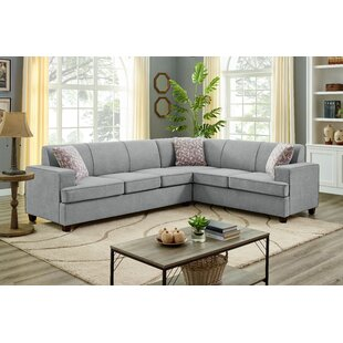 Menoken 112 Right Hand Facing Sectional by Ebern Designs