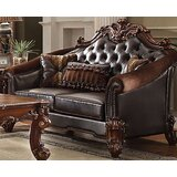 Bordadora Loveseat with Pillow by Astoria Grand