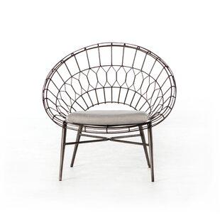 Bungalow Rose Wanaque Rattan Patio Chair