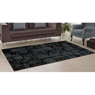 Looking for Nehemiah Patch Gray/Black Area Rug By Williston Forge