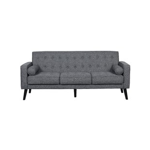 Deven Mid Century Tufted Sofa