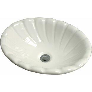Cole + Company Conventry Ceramic Specialty Drop-In Bathroom Sink