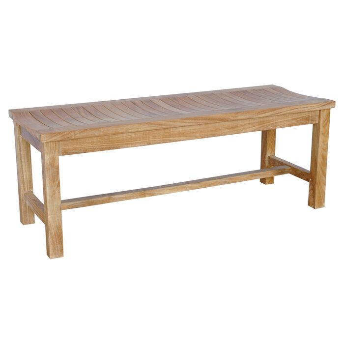 Terrific Casablanca Teak Wood Picnic Bench Caraccident5 Cool Chair Designs And Ideas Caraccident5Info